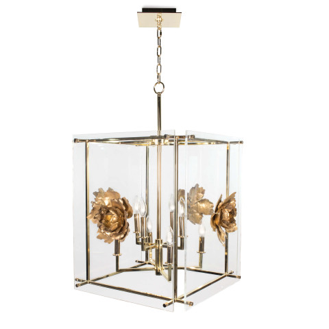 Adeline Pendant Lantern Large   Gracious Style