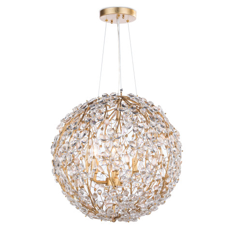 Cheshire Chandelier Small, Gold Leaf | Gracious Style