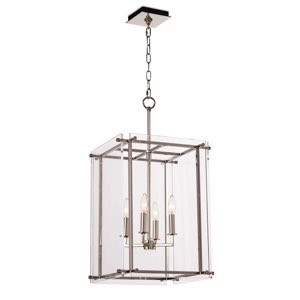 Jane Pendant Lantern Small, Polished Nickel | Gracious Style