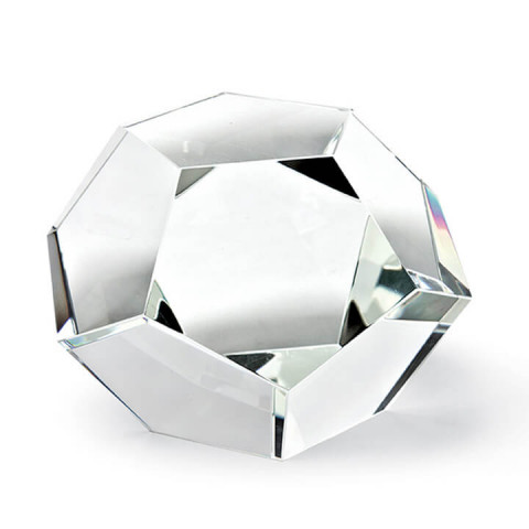 Crystal Dodecahedron Object Large | Gracious Style