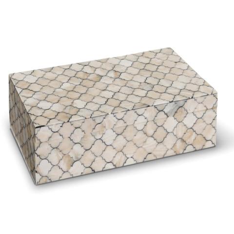 Mosaic Quatrefoil Box Large | Gracious Style