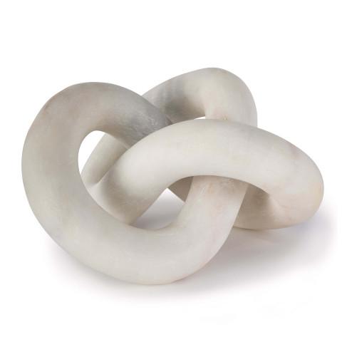 Cassius Marble Sculpture, White | Gracious Style