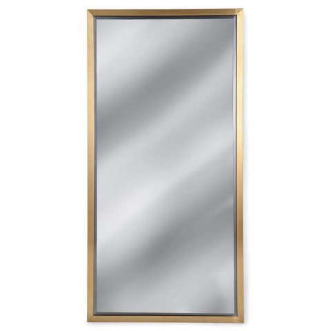 Rectangle Mirror, Natural Brass | Gracious Style