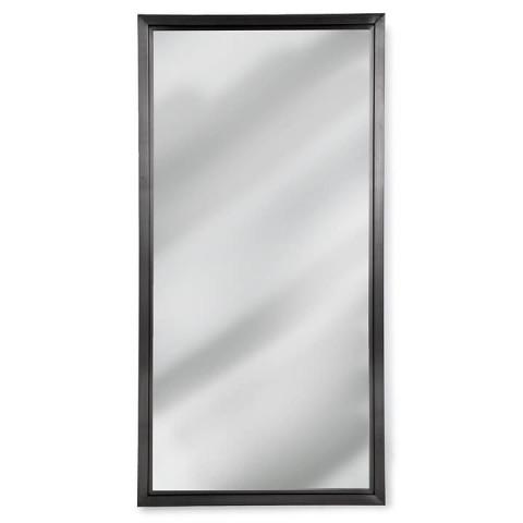 Rectangle Mirror, Steel | Gracious Style