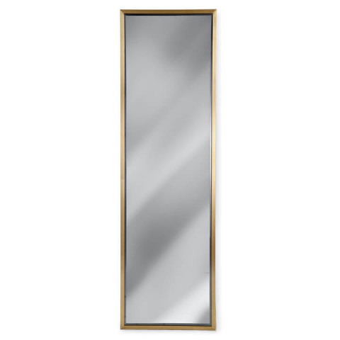 Dressing Room Mirror, Natural Brass | Gracious Style