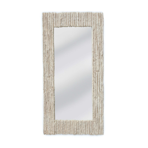 Slate Mirror Rectangle, Natural | Gracious Style