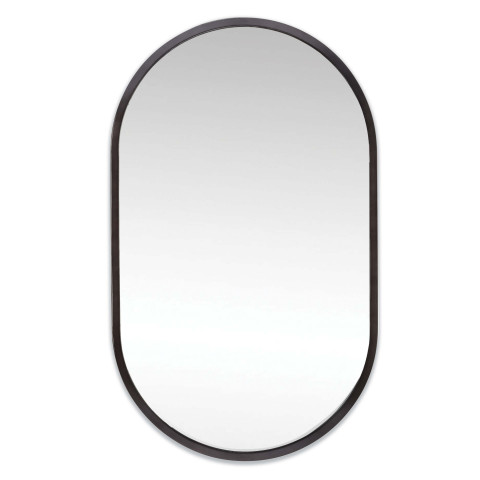 Canal Mirror, Steel | Gracious Style