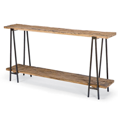 Reclaimed Console Table | Gracious Style