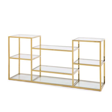 Astoria Console, Gold | Gracious Style