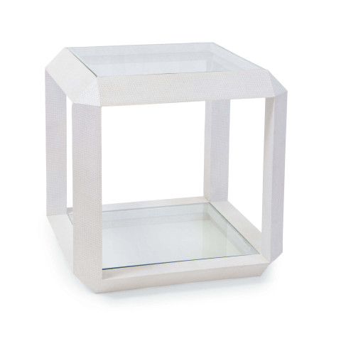 Aegean Side Table, White | Gracious Style