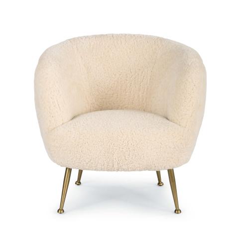 Beretta Sheepskin Chair | Gracious Style