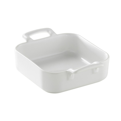 Belle Cuisine White Square Baking Dish 5 x 5 x 1.5 In | Gracious Style