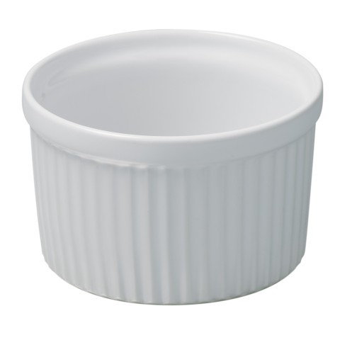 French Classics White Individual Souffle 4 In 10.5 Oz | Gracious Style