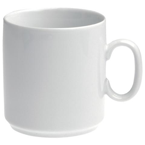 Les Essentiels White Mug 11.75 Oz | Gracious Style