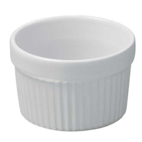 French Classics White Individual Souffle 3.25 In 5.75 Oz | Gracious Style