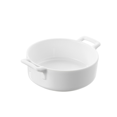 Belle Cuisine White Roasting Dish 13.5 x 9.75 x 2.5 In | Gracious Style
