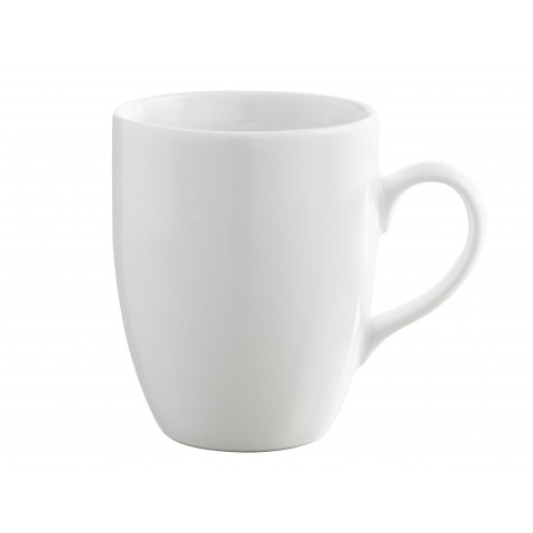 Les Essentiels White Mug 11.75 Oz   Gracious Style