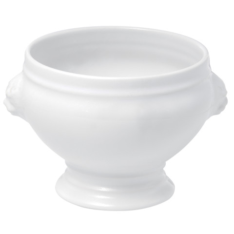 French Classics White Lion Headed Soup Bowl No Lid 15.75 Oz | Gracious Style