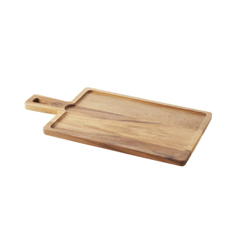 Inspired Rectangular Wooden Board Acacia 17 x 9 x 0.5 In | Gracious Style