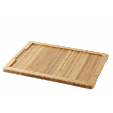 Inspired Steak Plate Liner Bamboo 14.75 x 11 x 0.75 In   Gracious Style