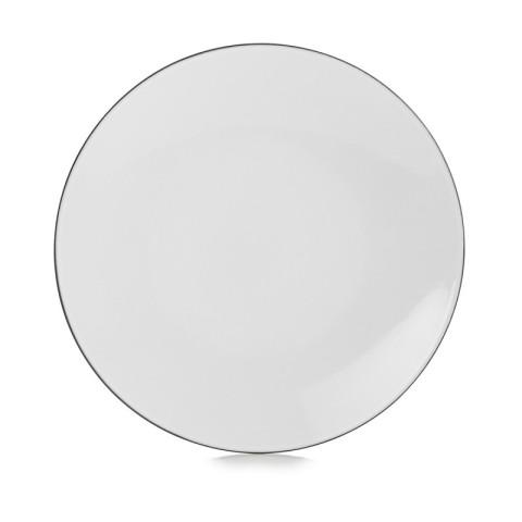 Equinoxe White Cumulus Dinnerware | Gracious Style