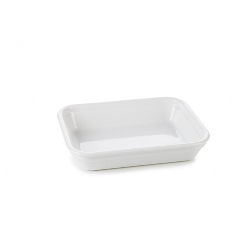 French Classics White Rectangular Dish 7.5 x 5.75 x 1.5 In | Gracious Style