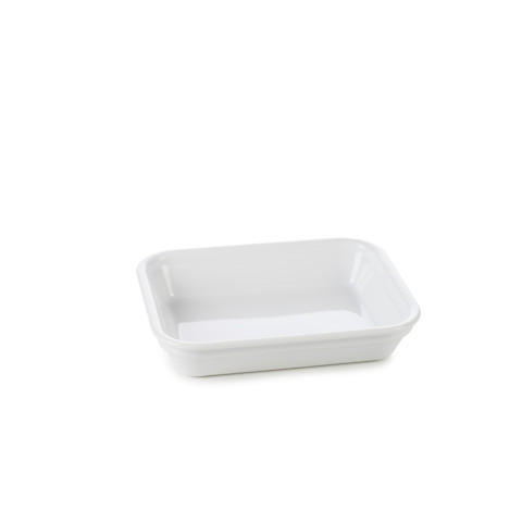 French Classics White Rectangular Dish 6.25 x 4.75 x 1.25 In | Gracious Style