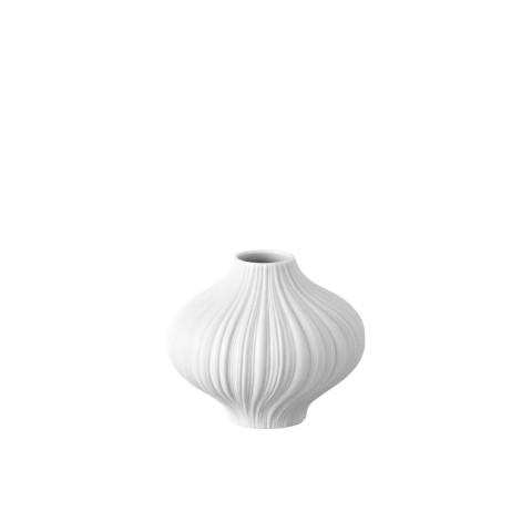 Rosenthal Mini Vases Plissee White Matte 3 In Gracious Style