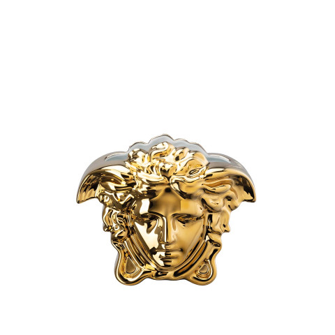 Medusa Grande Vase Gold 6 In | Gracious Style