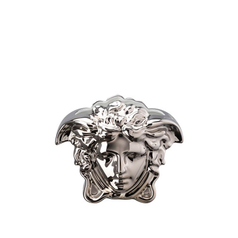 Medusa Grande Vase Silver 6 In | Gracious Style