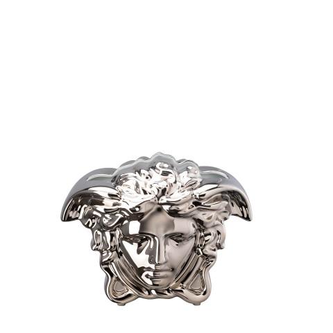 Medusa Grande Vase Silver 8 1/4 In   Gracious Style