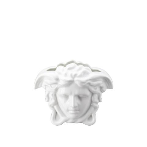 Medusa Grande Vase White 6 In | Gracious Style