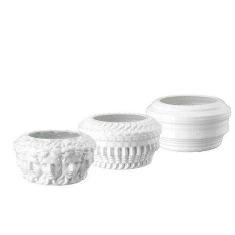Euphoria White Set Of 3 Vases (Special Order) | Gracious Style