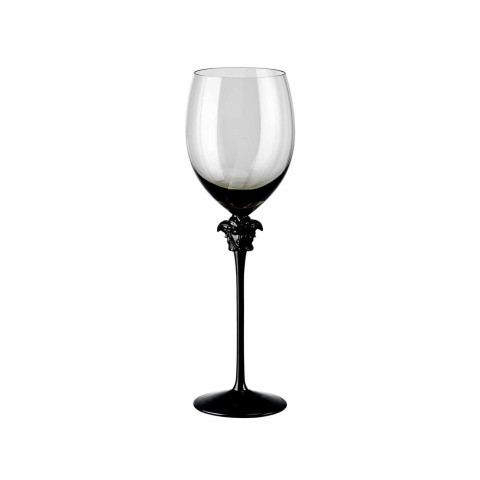Medusa Lumiere Haze Water Goblet Set Of Two 16 Oz 11 1/2 In 11 1/2 in. 16 oz. | Gracious Style