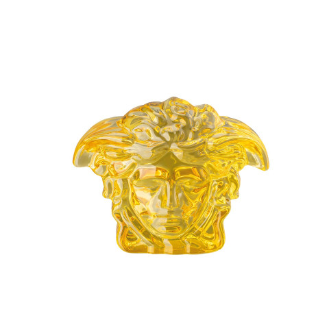 Medusa Lumiere Amber Paperweight 5 X 3 In H- 4 In | Gracious Style