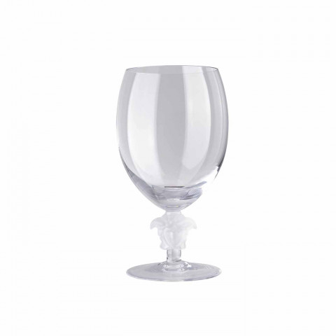 Medusa Lumiere 2/Short Stem - Clear  Red Wine  6 1/2 in.  16 oz.   Gracious Style