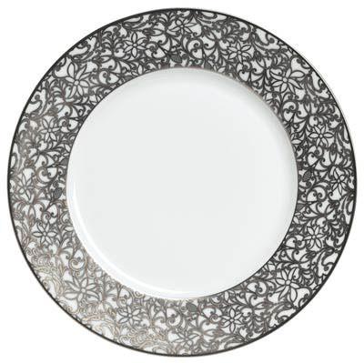 Salamanque Platinum Dinnerware   Gracious Style