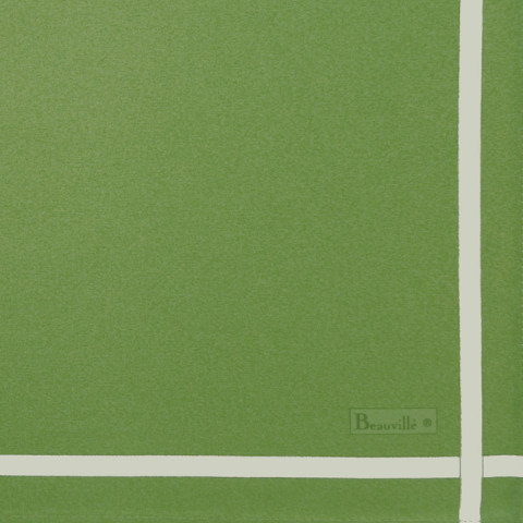 Two-Coloured Col.17 Green/Anise 21 x 21 in Napkin | Gracious Style