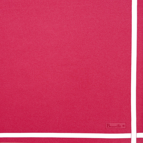Two-Coloured Col.14 Peony/White 21 x 21 in Napkin | Gracious Style