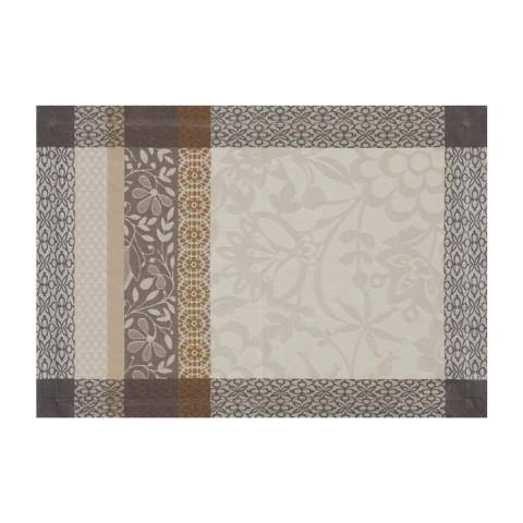 Provence Beige Placemat Rect 21 x 15 in   Gracious Style