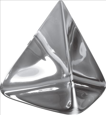 Clear Prism, 4.5 Inch   Gracious Style