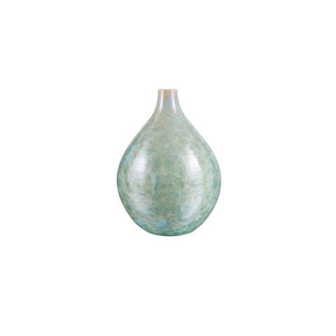 PURE Crystalline Teardrop Vase, Small Jade | Gracious Style