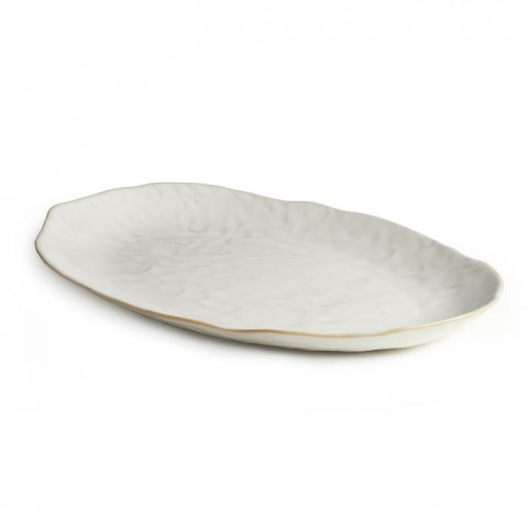 Burlington Oval Platter, Large Cloud | Gracious Style