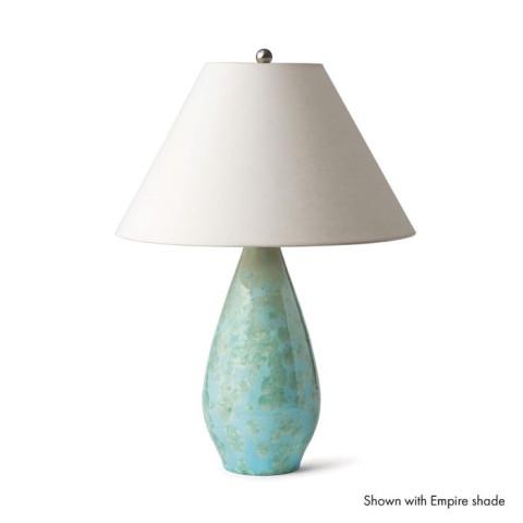 Crystalline Bristol Pottery Lamp Jade | Gracious Style