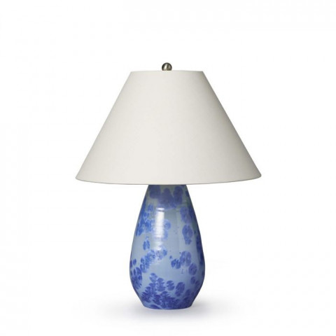 Crystalline Bristol Pottery Lamp Cobalt | Gracious Style