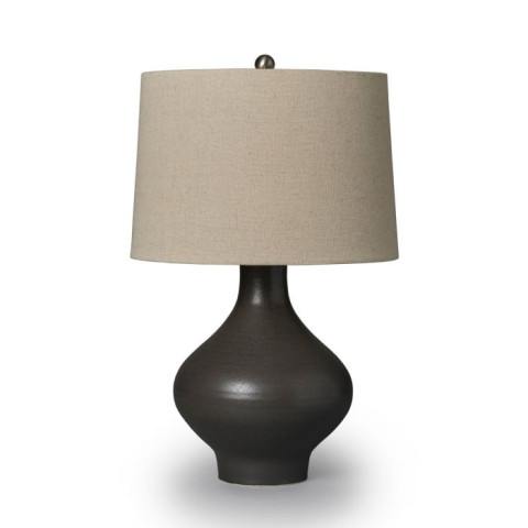 Dover Pottery Lamp Slate | Gracious Style
