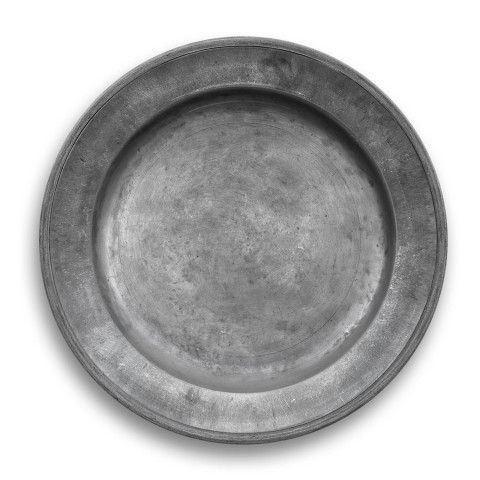 Pewter Melamine Charger | Gracious Style
