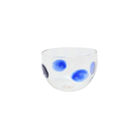 Drop Blue Small Bowl - 3.5 in. d, 2.5 in. h | Gracious Style