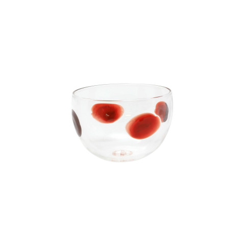 Drop Red Small Bowl - 3.5 in. d, 2.5 in. h | Gracious Style