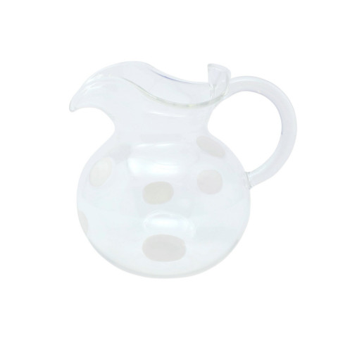 Drop White Three-spout Pitcher - 6.25 in. h, 6 Cups | Gracious Style